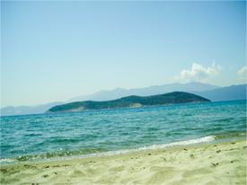 Керамоти - плажът